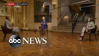 Joe Biden and Kamala Harris answer questions on upcoming election