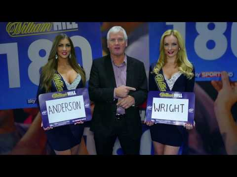Gary Anderson v Peter Wright: William Hill World Darts Championship semi-final