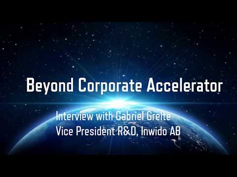 Interview with Gabriel Grelte at Inwido about Beyond Corporate Accelerator