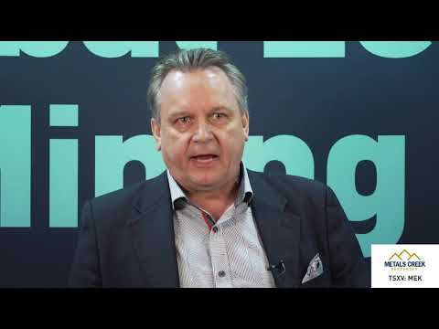 Video: View from the C-Suite: Alexander (Sandy) Stares, Chief Executive Officer, Metals Creek Resources Corp., tells his company's story.