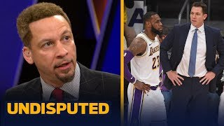 Chris Broussard isn't convinced Luke Walton is the problem for LeBron and Lakers | NBA | UNDISPUTED