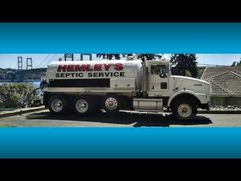 Hemley Septic Tank Cleaning Service | Tacoma - Puyallup - Gig Harbor