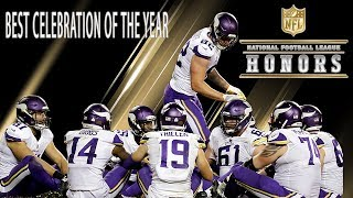 Best Celebration Award! | 2018 NFL Honors