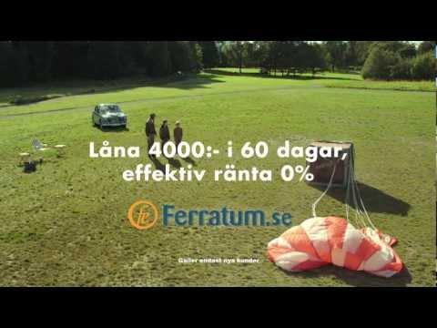 Ferratum reklam: Oväntade utgifter?