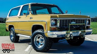 FOUND: 1974 Chevrolet K5 Blazer (BARN FIND on Bring-A-Trailer)