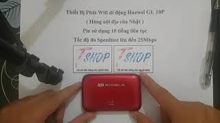 Hướng dẫn reset, cài đặt thiết bị phát wifi di động huawei GL 10P