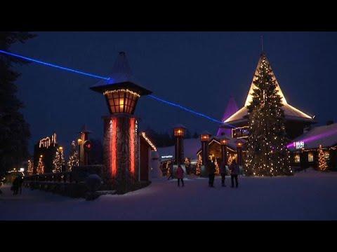 Navidad sin turistas en la tierra de Papá Noel