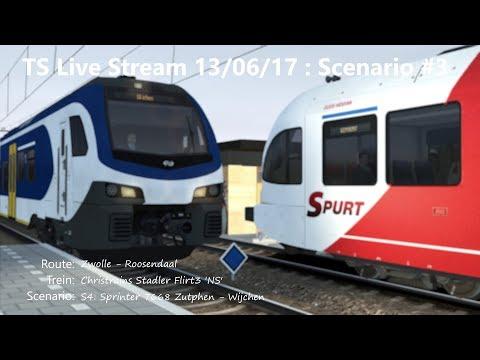 S4: Sprinter 7668 Zutphen - Wijchen (Livestream 13/06/17)