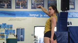 Katelyn Ohashi - New FX Choreography