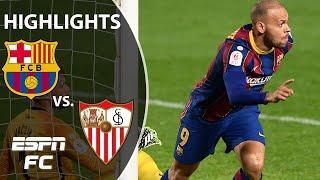 Barcelona's EPIC comeback! All the action from the 3-0 win vs. Sevilla in the Copa del Rey | ESPN FC