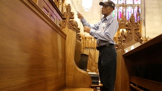 Reflecting on Julian Abele with Duke Chapel Custodian Oscar Dantzler  video