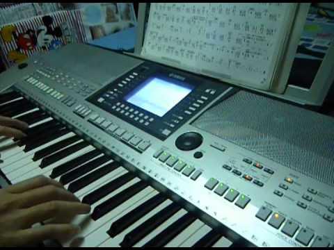 郭采潔-又圓了的月亮-電子琴彈奏