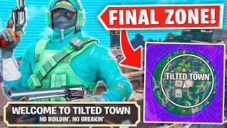 I GOT FINAL ZONE IN TILTED TOWN! (very dumb)