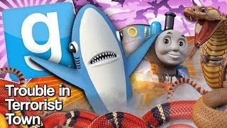 YOGS ON A TRAIN | Gmod TTT
