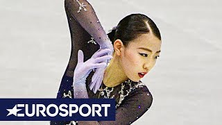 Rika Kihira HIGHLIGHTS   Women's Free Skate   NHK Trophy 2018 Figure Skating   Eurosport