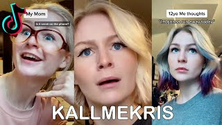 TikTok Kallmekris Life Of A Teenager Compilation