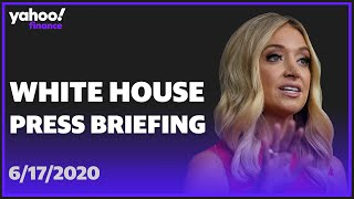 WATCH: White House Press Secretary Kayleigh McEnany holds an on-camera briefing