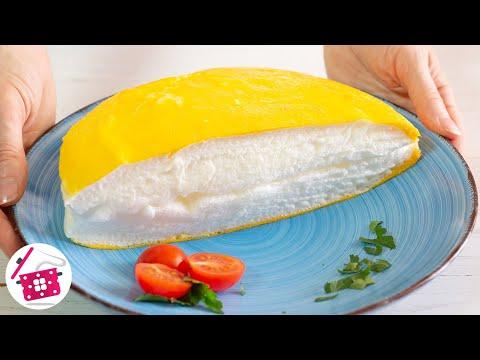 Самый пышный в мире ОМЛЕТ 🍳 Омлет ПУЛЯР на сковороде за 5 минут! Готовим дома