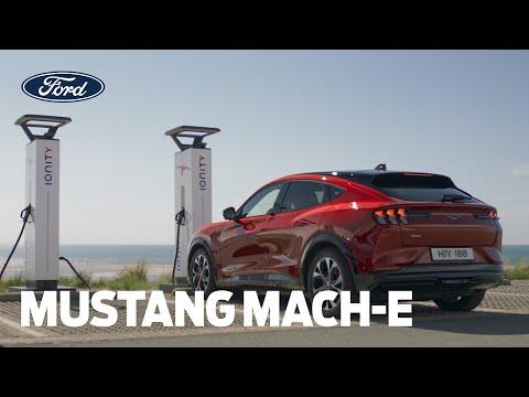 Slik lader du på veien | Mustang Mach-E Ford Norge