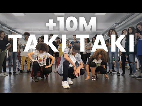 DJ Snake - Taki Taki ft. Selena Gomez, Ozuna, Cardi B   Dance Choreography