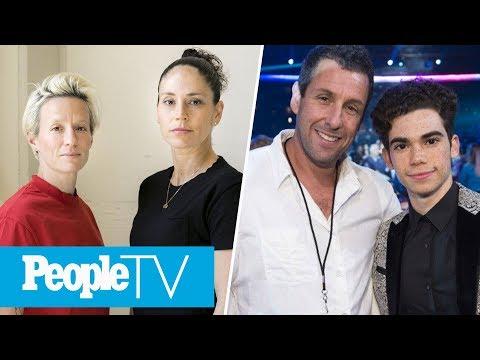 Adam Sandler's Cameron Boyce Tribute, Megan Rapinoe & Sue Bird Share Victory Kiss | LIVE | PeopleTV