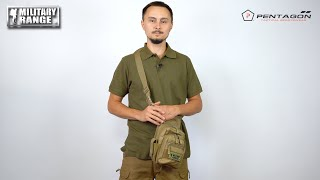 video - Stehenní pouzdro PENTAGON MAX-S 2.0 - Military Range CZ/SK