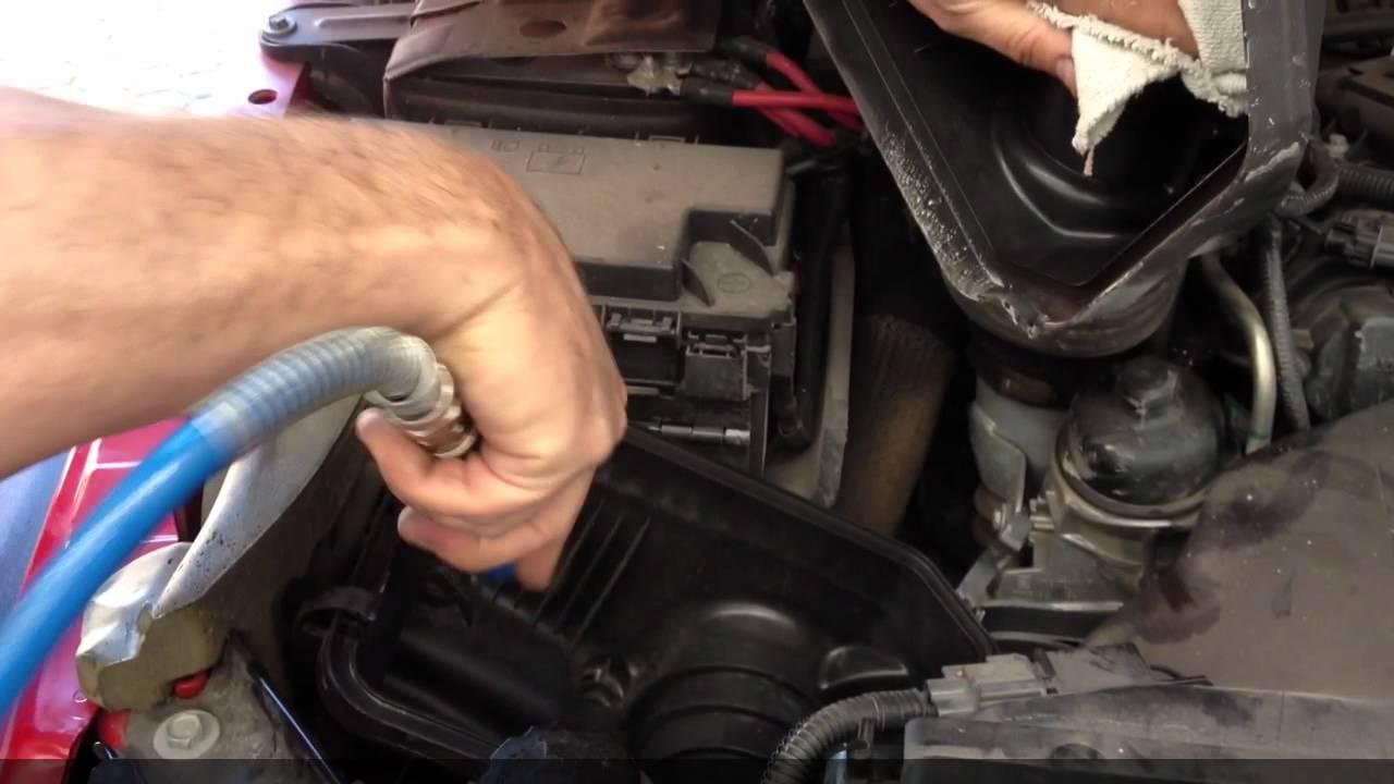 Jeep Wrangler Jk 2 8 Crd Sostituzione Filtro Aria Youtube