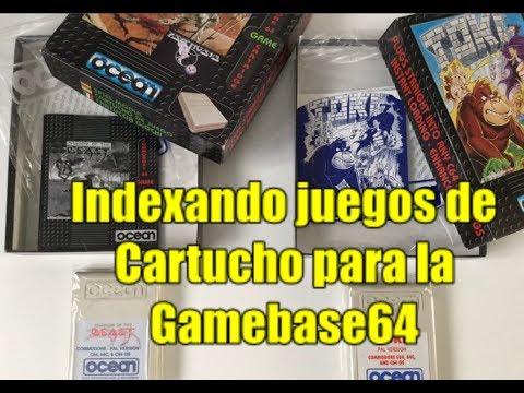 Commodore 64 Real 50Hz: Indexando Juegos en Cartucho para la Gamebase64