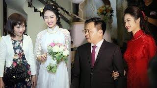 Toàn Cảnh lễ rước dâu của Hoa hậu Thu Ngân và đại gia Hải Phòng