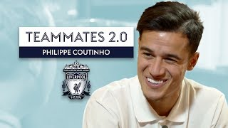 Dejan Lovren's clothes are.... | Philippe Coutinho | Teammates 2.0