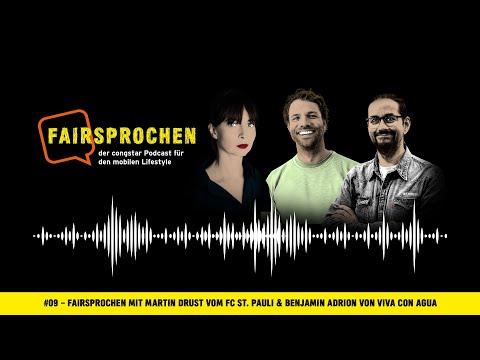 congstar Podcast #09 – FAIRsprochen mit Martin Drust (FC St.Pauli) & Benjamin Adrion (Viva con Agua)