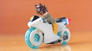 Lego Hover bike from Overwatch Storm Rising MOC
