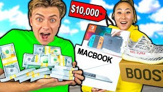 BUYING MY GIRLFRIEND EVERYTHING SHE TOUCHES!!