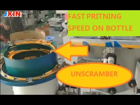 Automatic screen printing machine for cap,cup and bowl