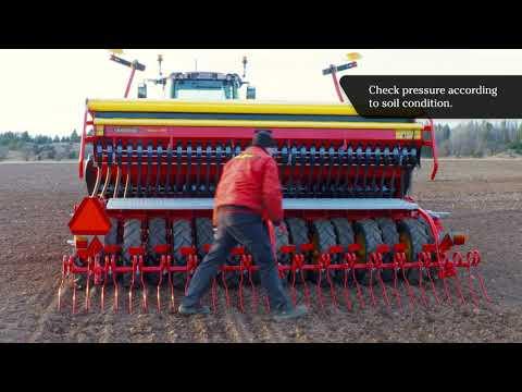 QuickStart – Field settings – Väderstad Rapid 300-400C/S