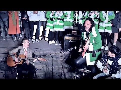와 기타천재란 이런거? 오늘 홍대에 백두산 김도균와서 버스커와 기타배틀 즉흥연주