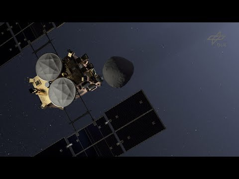 Animation: Asteroidlander MASCOT on board Hayabusa2