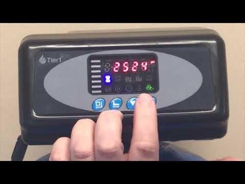 How to Program a Tier1 165-164 64,000 Grain Water Softener Valve