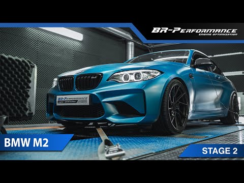 BMW M2 Pops & Bangs / Stage 2 By BR-Performance / Wagner Competition Package