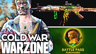 Call Of Duty WARZONE: The FULL SEASON 2 BATTLE PASS! (Cold War Season 2)