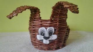 Pletení z papíru - Velikonoce