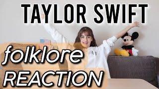 folklore - Taylor Swift Album Reaction!