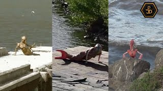 3 Impresionantes Sirenas captadas en video 2019 - Real o Mito?