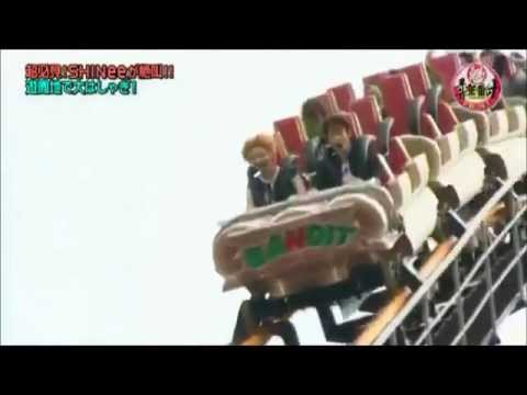 SHINee's RollerCoaster Experience [Eng Sub]