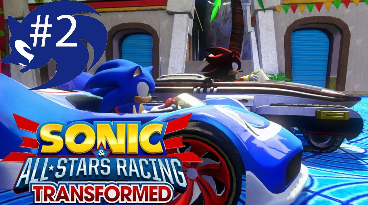 Sonic and shadow 2 player racing games
