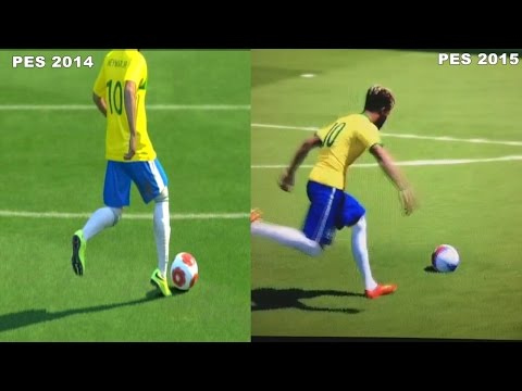 PES 2014 vs PES 2015 Comparisons #1 HD