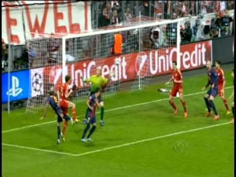 Baixar Bayern de Munique x Barcelona - Liga dos Campeões da Europa 2013 - Semifinal - 23/04/2013