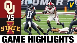 #10 Oklahoma vs #6 Iowa State Highlights | 2020 Big 12 Championship Game College Football Highlights