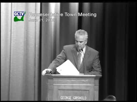Representative Town Meeting - June11, 20018