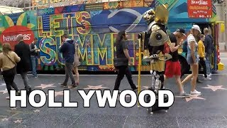 Hollywood Boulevard, Los Angeles, USA | Street Walk